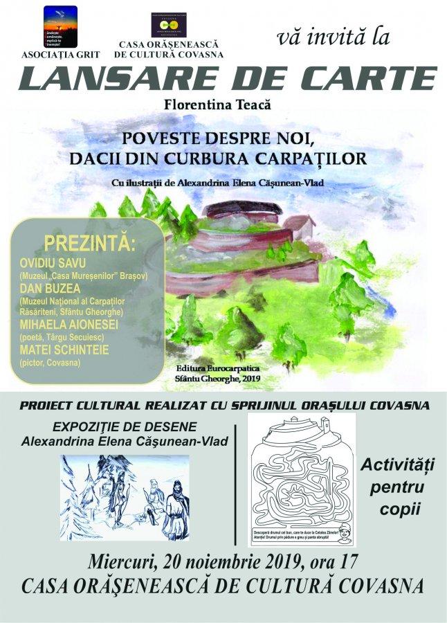 AFIS Florentina Teaca - lansare carte
