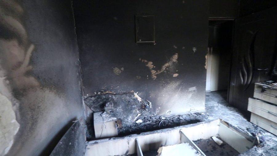Un apartament din Sf.Gheorghe a luat foc de la un acumulator pus la încărcat