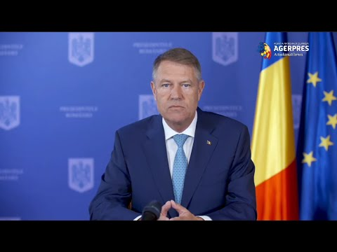 Video Iohannis: Dacă situația se va înrăutăți nu voi ezita să declar din nou stare de urgență