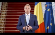 Video Iohannis: Începând din 15 mai vom intra în stare de alertă