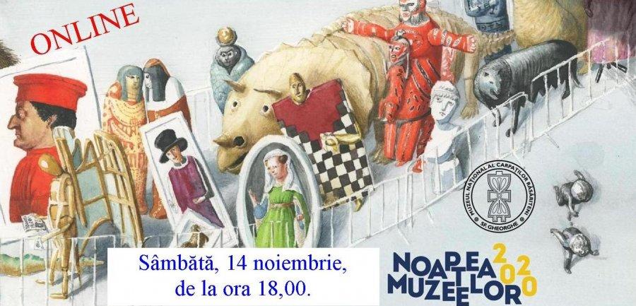 Noaptea Muzeelor la Muzeul Național al Carpaților Răsăriteni, astăzi