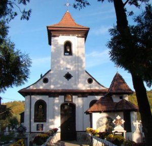 """Foto: Biserica """"Înălțarea Domnului"""" din Vama Buzaului"""