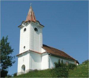 """Foto: Biserica """"Sfântul Nicolae"""" din Căpeni (a.c. 1712)"""