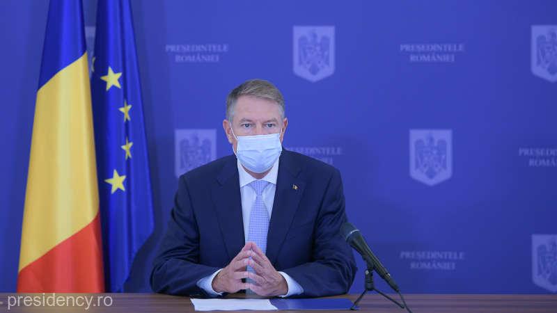 Klaus Iohannis: Sunt necesare măsuri mai ferme pentru a controla extinderea pandemiei