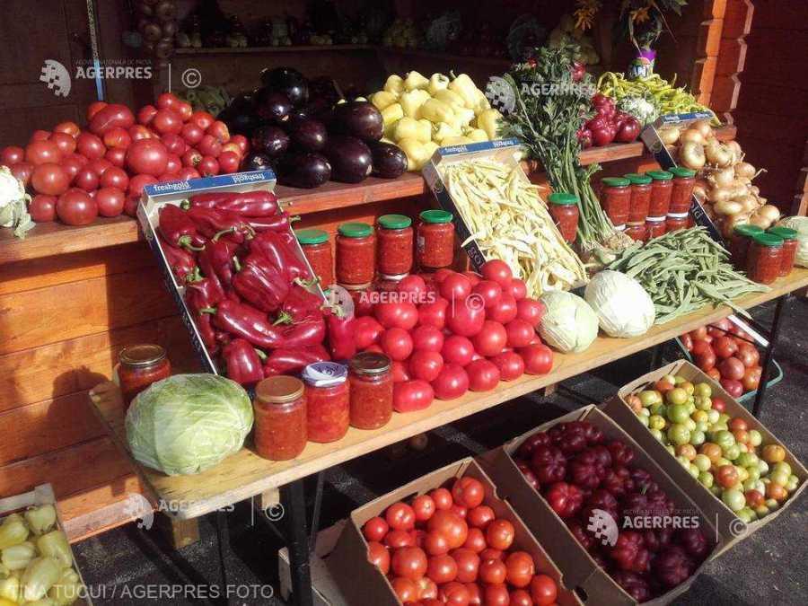 """Cinci cooperative agricole vor livra lunar 15.000 de tone de legume sub brandul """"Ţara Mea''"""