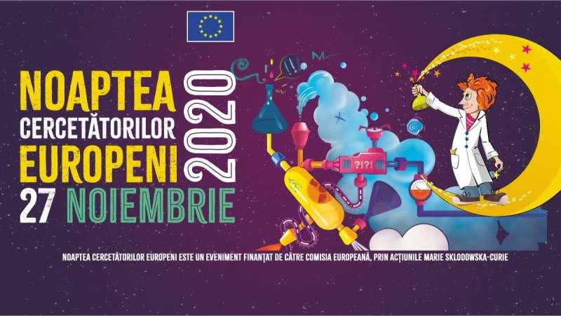 Noaptea Cercetătorilor Europeni 2020 - online, vineri