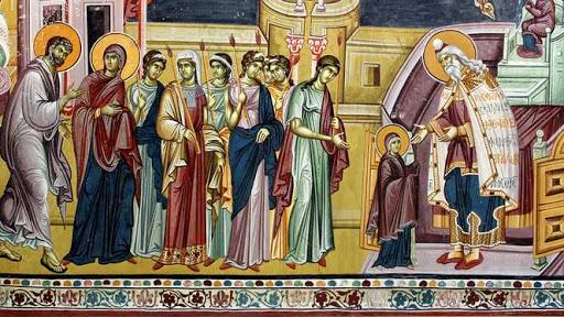 Tradiţii- Intrarea în Biserică a Maicii Domnului