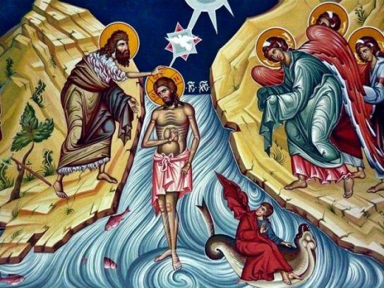 Tradiţii  Botezul Domnului