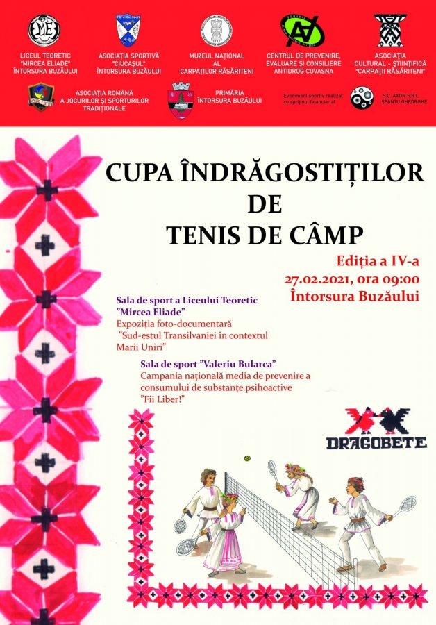 Cupa Îndrăgostiţilor de tenis de câmp, ediţia a IV-a, la Întorsura Buzăului