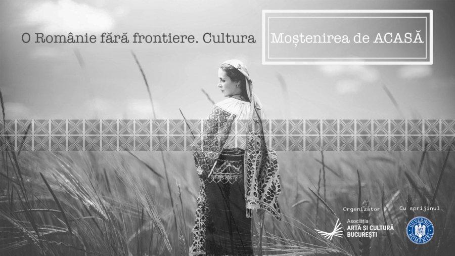 Memoria. Zestrea. Moștenirea de acasă - Expoziție online colectivă realizată cu participarea tuturor românilor aflați în țară sau peste hotare