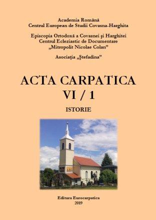 Anuarul Acta Carpatica VI – o operă cultural-ştiinţifică remarcabilă