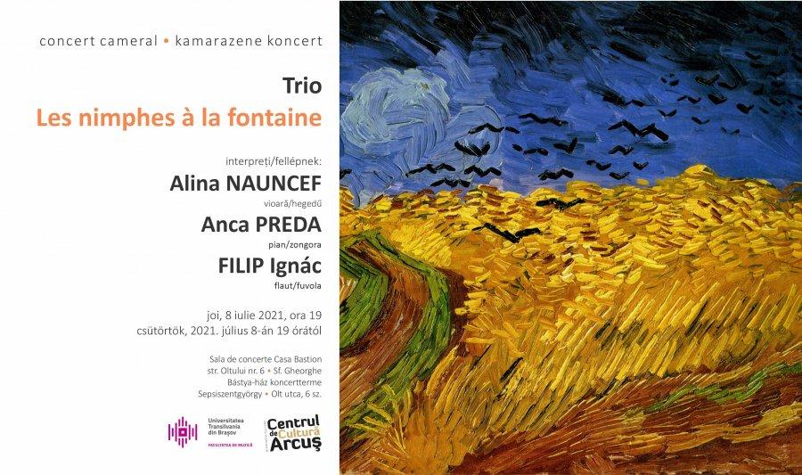 Concert extraordinar de muzică de cameră, la Centrul de Cultură Arcuș