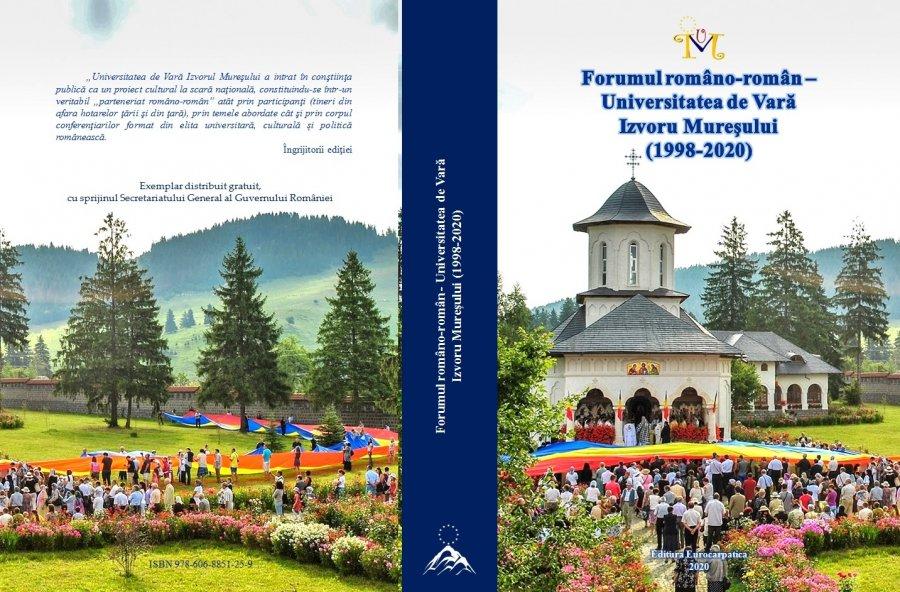 Participarea reprezentanţilor românilor din comunităţile istorice, din jurul graniţelor, la Universitatea de Vară de la Izvoru Mureşului (2000 -2020)-(VII)