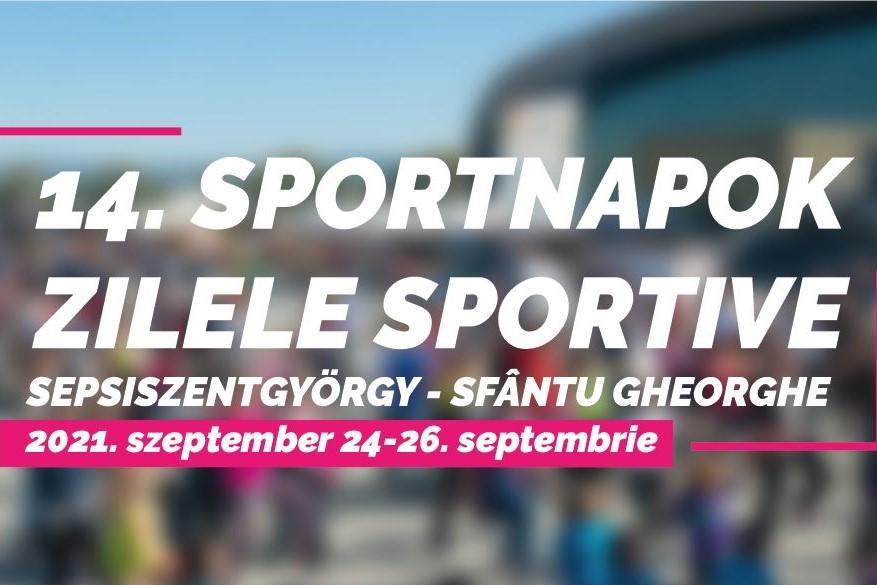 Zilele Sportive încep în forță în acest weekend
