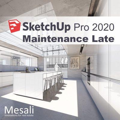 SketchUp 2020 maintenance Late