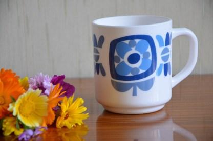 mug mobil bleu marque arcopal