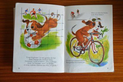 Ploum fait du sport, édition Hachette, imprimé en France, *une histoire * une chanson * des jeux *