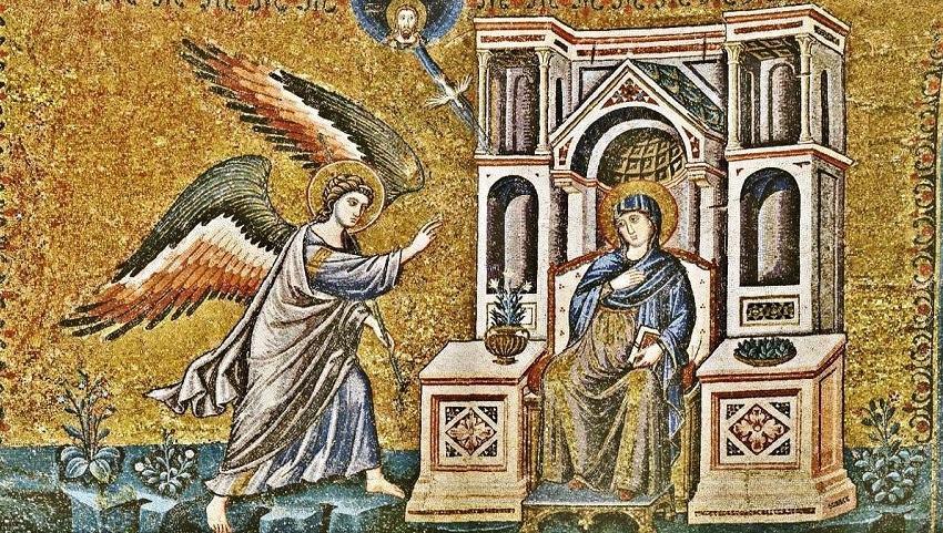 Αποτέλεσμα εικόνας για ευαγγελισμός της θεοτόκου
