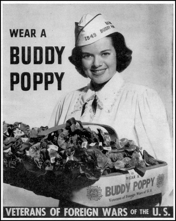VFW Buddy Poppy