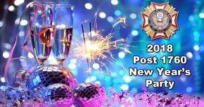 New Year's Party @ Post 1760 Canteen | Mesa | Arizona | United States