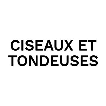 Ciseaux et tondeuses