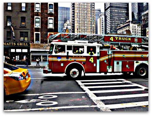 Pompiers NYC