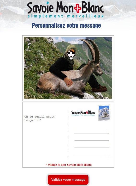 Cartes postales Savoie Mont Blanc