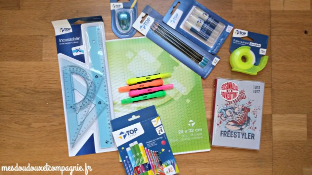 fourniture scolaire top office