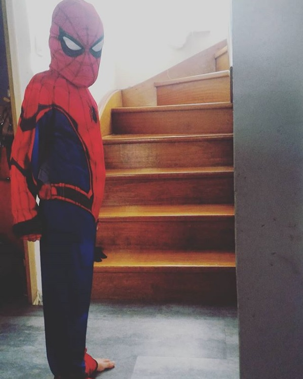 carnaval école spiderman