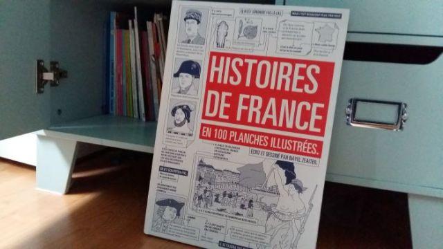 livre pour enfants curieux histoire de france
