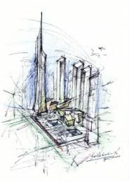 Schizzo WTC