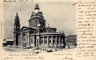 Budapest - Bazilika - 1899