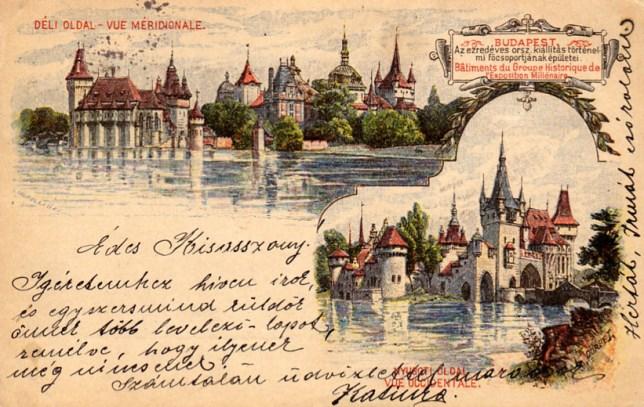 Budapest - Vajdahunyad-vár - 1898
