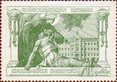 EP - Budapest - Irgalmasrendi kórház - levélzáró
