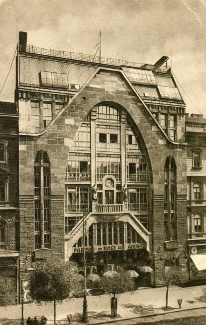 HU - Budapest - Párisi Nagyáruház - 1915