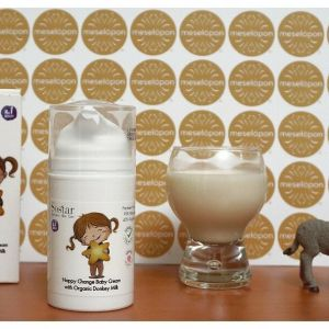 Baby Diaper Rash Cream For Changing Nappy With Bio Donkey Milk 75ml For All Skin Types