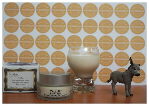 Skin Tightening Day Soothing Women Cream Collagen For Face & Neck Enriched With Bio Donkey Milk 50ml For All Skin Types