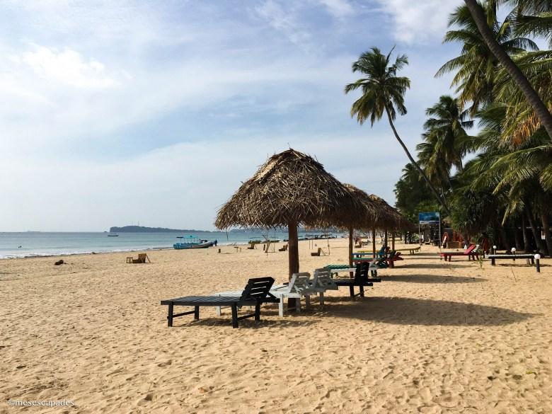 Plages de sable blanc à Uppuveli