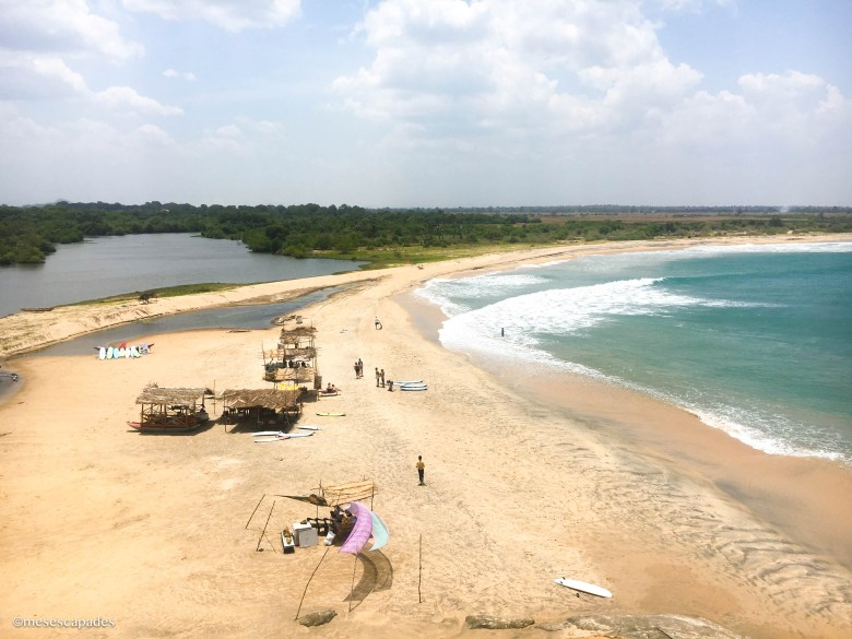 Entre mer et lagune, Arugam Bay