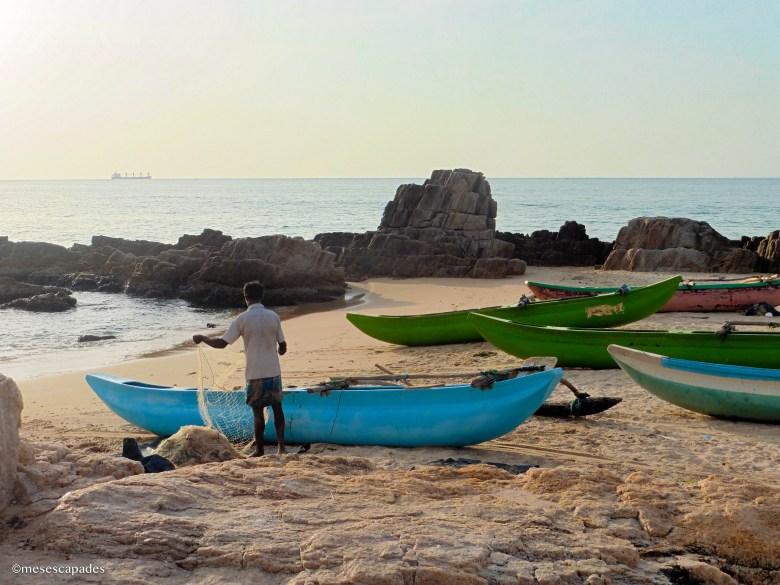 Lever de soleil au Sri Lanka