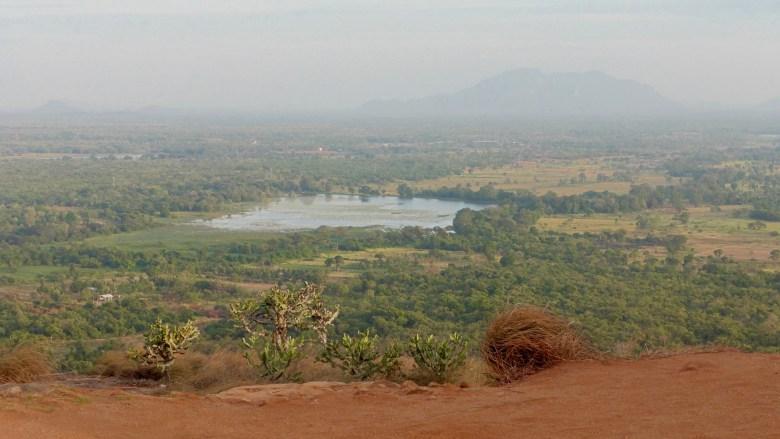 Vue depuis le rocher Pidurangala