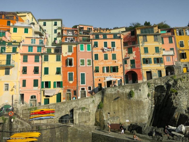 Les maisons colorées de Riomaggiore