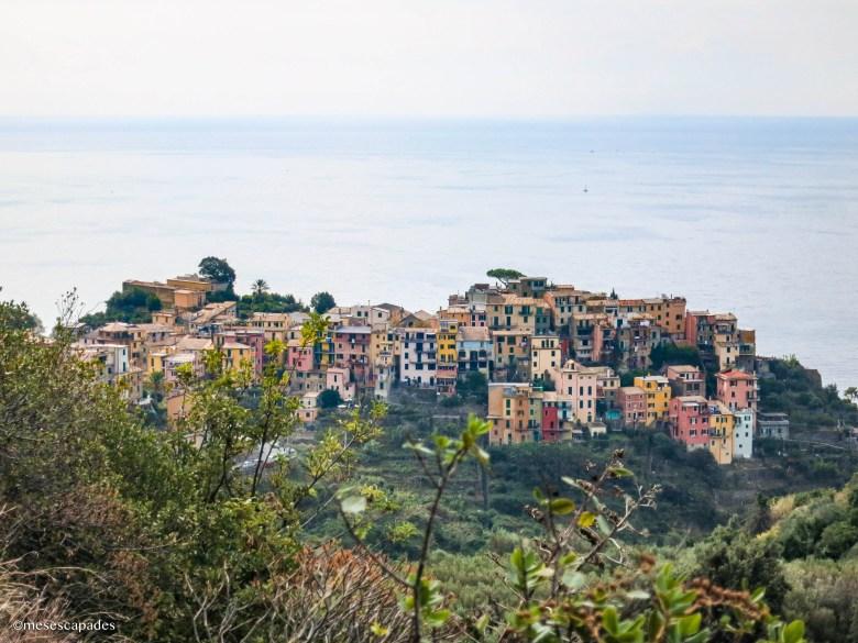 Corniglia, le seul village perché en haut de la falaise