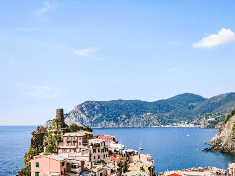 Vernazza, un village magnifique des Cinque Terre