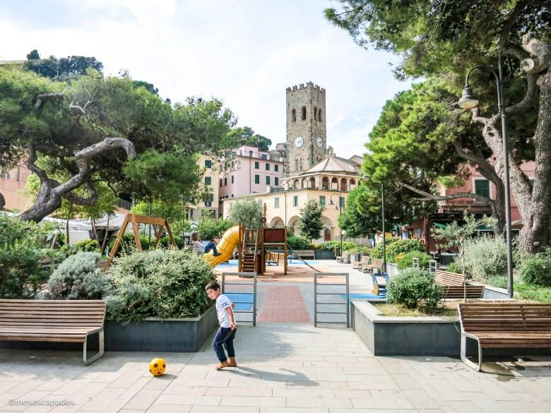 Balade dans le centre-ville de Monterosso