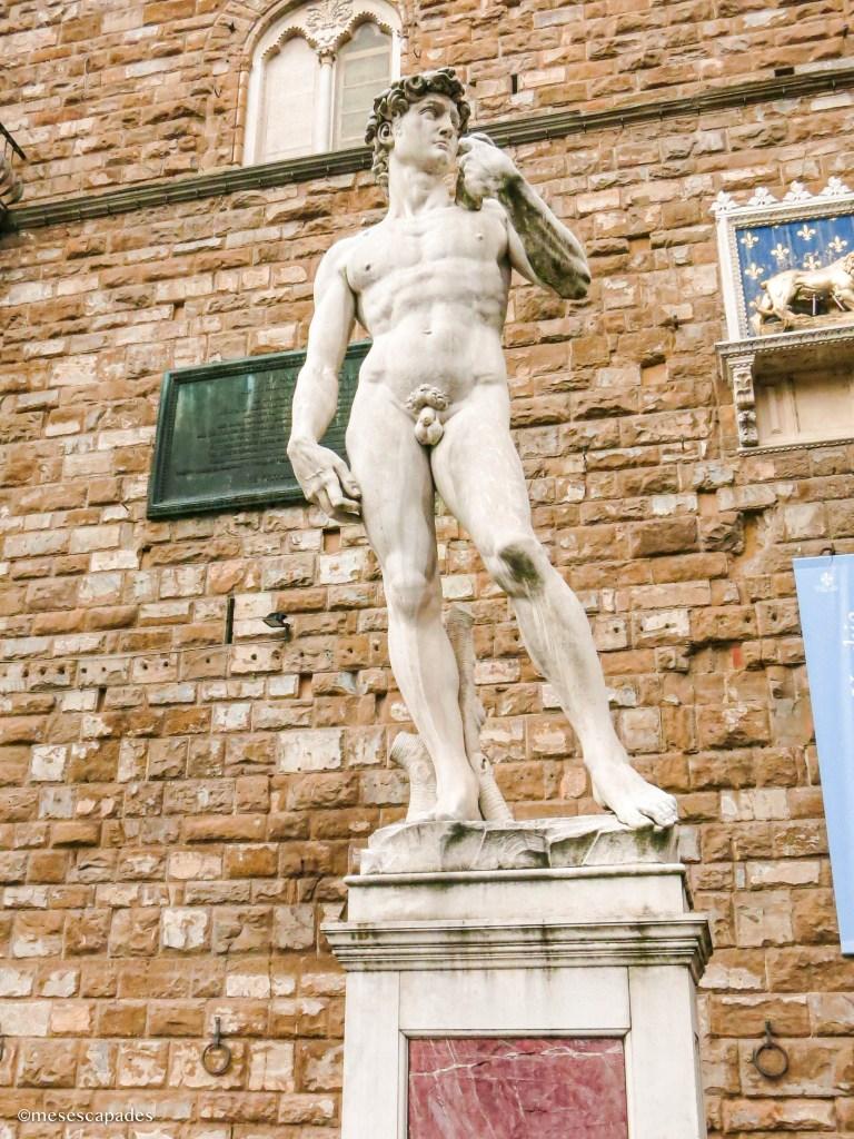 La statue de David à Florence