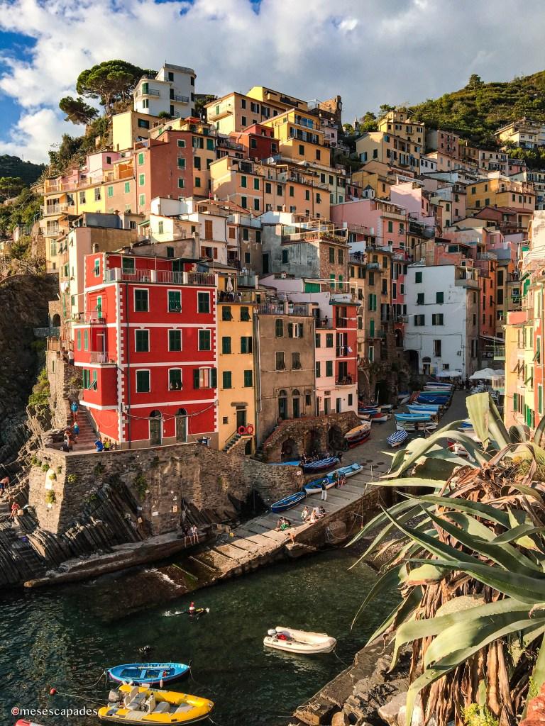 Le plus joli point de vue sur Riomaggiore, Cinque Terre