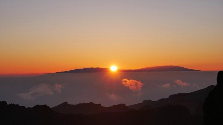 Coucher de soleil à Masca