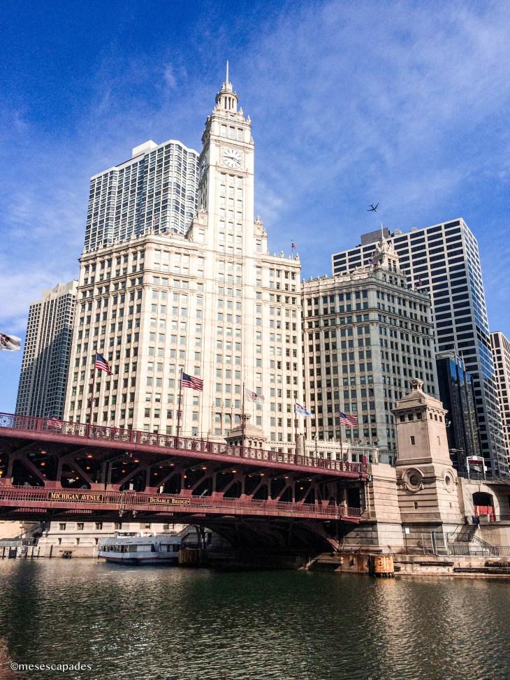 Balade en bateau dans Chicago