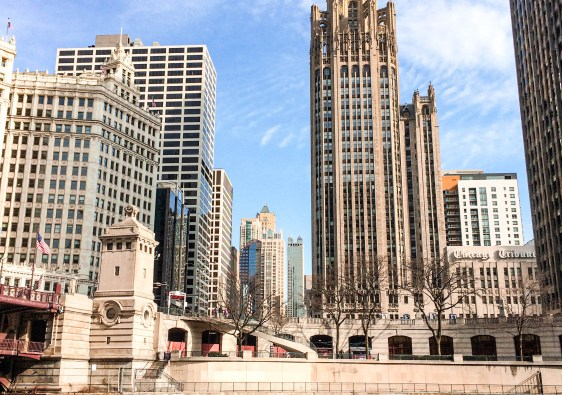 Les buildings de Chicago